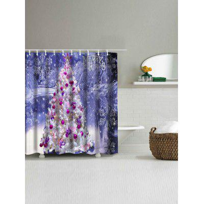 Christmas Tree Snowscape Print Waterproof Bath CurtainShower Curtain<br>Christmas Tree Snowscape Print Waterproof Bath Curtain<br><br>Materials: Polyester<br>Number of Hook Holes: W59 inch*L71 inch: 10; W71 inch*L71 inch: 12<br>Package Contents: 1 x Shower Curtain 1 x Hooks (Set)<br>Pattern: Christmas Tree<br>Products Type: Shower Curtains<br>Style: Festival
