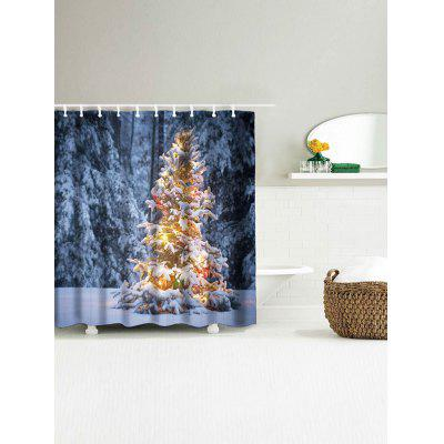 Snowscape Print Christmas Waterproof Bath CurtainShower Curtain<br>Snowscape Print Christmas Waterproof Bath Curtain<br><br>Materials: Polyester<br>Number of Hook Holes: W59 inch*L71 inch: 10; W71 inch*L71 inch: 12<br>Package Contents: 1 x Shower Curtain 1 x Hooks (Set)<br>Products Type: Shower Curtains<br>Style: Festival
