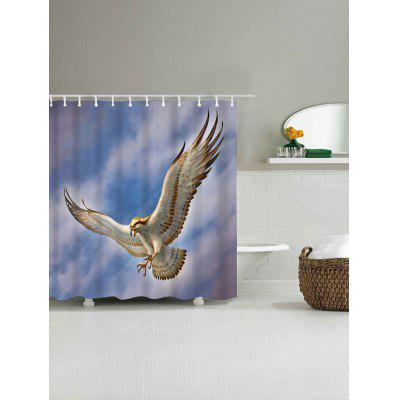 Flying Eagle Print Waterproof Shower CurtainShower Curtain<br>Flying Eagle Print Waterproof Shower Curtain<br><br>Materials: Polyester<br>Number of Hook Holes: W59 inch*L71 inch: 10; W71 inch*L71 inch: 12<br>Package Contents: 1 x Shower Curtain 1 x Hooks (Set)<br>Pattern: Animal<br>Products Type: Shower Curtains<br>Style: Chic/Modern