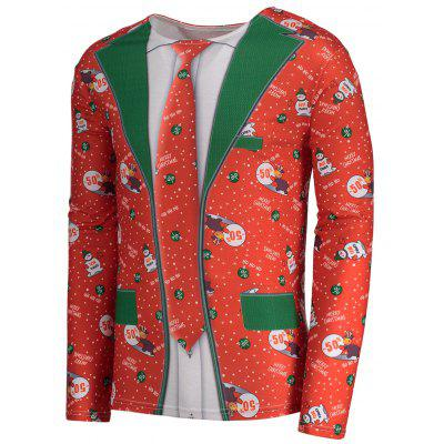 Christmas Graphic Cartoon Print Long Sleeve TeeMens Long Sleeves Tees<br>Christmas Graphic Cartoon Print Long Sleeve Tee<br><br>Collar: Crew Neck<br>Material: Polyester, Spandex<br>Package Contents: 1 x T-shirt<br>Pattern Type: Character, Print, Letter<br>Season: Fall, Spring, Summer<br>Sleeve Length: Full<br>Style: Fashion<br>Weight: 0.3200kg