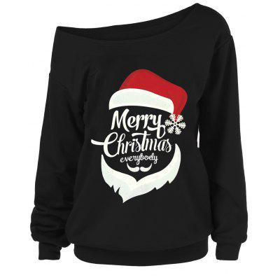 Merry Christmas Santa Claus Plus Size Sweatshirts