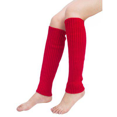 Vertical Striped Pattern Knitted Leg Warmers 486 Free Shipping