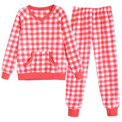 Checked Flannel Pajamas