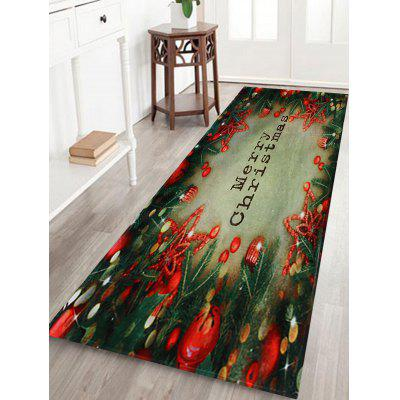 Christmas Tree Decorations Pattern Water Absorption Area Rug