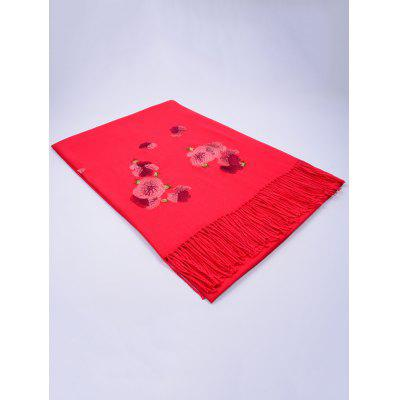 Vintage  Floral Embroidery Ethinc Style Fringed ScarfScarves<br>Vintage  Floral Embroidery Ethinc Style Fringed Scarf<br><br>Gender: For Women<br>Group: Adult<br>Material: Polyester<br>Package Contents: 1 x Scarf<br>Scarf Length: 200CM<br>Scarf Type: Scarf<br>Scarf Width (CM): 70CM<br>Season: Fall, Winter, Spring<br>Style: Vintage<br>Weight: 0.2650kg