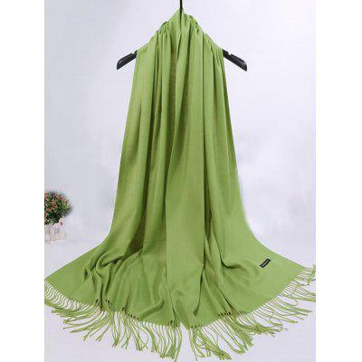 Soft Artificial Cashmere Fringed Long ScarfScarves<br>Soft Artificial Cashmere Fringed Long Scarf<br><br>Gender: For Women<br>Group: Adult<br>Length (CM): 190CM<br>Material: Polyester<br>Package Contents: 1 x Scarf<br>Scarf Length: Above 175CM<br>Scarf Type: Scarf<br>Scarf Width (CM): 65CM<br>Season: Spring, Winter, Fall<br>Style: Vintage<br>Weight: 0.2650kg