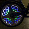 14 LED 40 Colorful Patterns Bicycle Wheel Light - WHITE