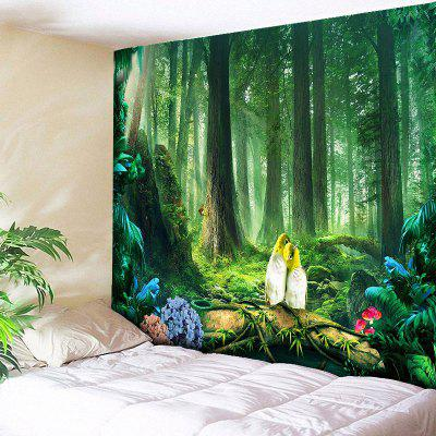 Beautiful Original Forest Print Wall Art Tapestry