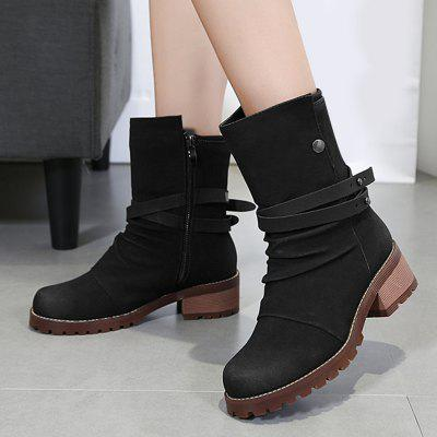 Chunky Heel Criss Cross Ankle BootsWomens Boots<br>Chunky Heel Criss Cross Ankle Boots<br><br>Boot Height: Ankle<br>Boot Tube Height: 16CM<br>Boot Type: Fashion Boots<br>Closure Type: Zip<br>Gender: For Women<br>Heel Height: 5CM<br>Heel Height Range: Med(1.75-2.75)<br>Heel Type: Chunky Heel<br>Package Contents: 1 x Boots (pair)<br>Pattern Type: Cross<br>Season: Spring/Fall<br>Shoe Width: Medium(B/M)<br>Toe Shape: Round Toe<br>Upper Material: PU<br>Weight: 1.1200kg