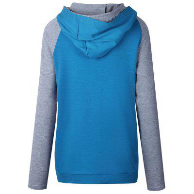 Casual Raglan Sleeve Color Block HoodieSweatshirts &amp; Hoodies<br>Casual Raglan Sleeve Color Block Hoodie<br><br>Material: Polyester, Spandex<br>Package Contents: 1 x Hoodie<br>Pattern Style: Others<br>Season: Fall, Spring<br>Shirt Length: Regular<br>Sleeve Length: Full<br>Style: Casual<br>Weight: 0.3200kg