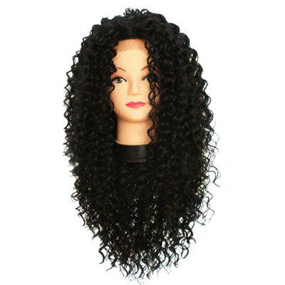 Long Free Part Curly Lace Front Synthetic Wig