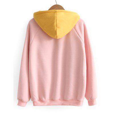 Two Tone Pocket Oversized HoodieSweatshirts &amp; Hoodies<br>Two Tone Pocket Oversized Hoodie<br><br>Clothing Style: Hoodie<br>Material: Cotton, Polyester<br>Package Contents: 1 x Hoodie<br>Pattern Style: Patchwork<br>Shirt Length: Regular<br>Sleeve Length: Full<br>Weight: 0.5100kg
