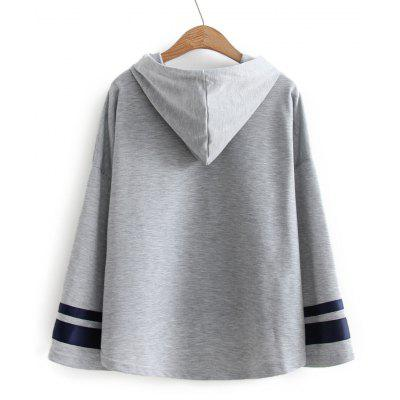 High Low Ribbons Trim Drawstring HoodieSweatshirts &amp; Hoodies<br>High Low Ribbons Trim Drawstring Hoodie<br><br>Clothing Style: Hoodie<br>Material: Cotton, Polyester<br>Package Contents: 1 x Hoodie<br>Pattern Style: Others<br>Shirt Length: Regular<br>Sleeve Length: Full<br>Weight: 0.3300kg