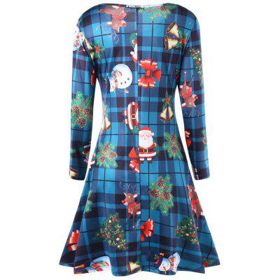 Plus Size Christmas Tree Long Sleeve Plaid DressPlus Size Dresses<br>Plus Size Christmas Tree Long Sleeve Plaid Dress<br><br>Dresses Length: Mid-Calf<br>Material: Polyester, Spandex<br>Neckline: Scoop Neck<br>Package Contents: 1 x Dress<br>Pattern Type: Christmas Tree<br>Season: Fall, Spring, Winter<br>Silhouette: A-Line<br>Sleeve Length: Long Sleeves<br>Style: Casual<br>Weight: 0.4500kg<br>With Belt: No