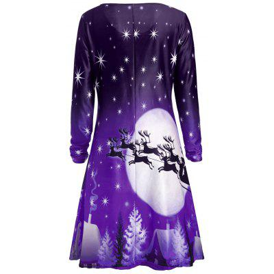 Christmas Deer Long Sleeve DressWomens Dresses<br>Christmas Deer Long Sleeve Dress<br><br>Dresses Length: Knee-Length<br>Material: Polyester<br>Neckline: Round Collar<br>Occasion: Casual<br>Package Contents: 1 x Dress<br>Pattern Type: Star, Print, Character, Animal<br>Season: Fall<br>Silhouette: A-Line<br>Sleeve Length: Long Sleeves<br>Style: Casual<br>Weight: 0.2300kg<br>With Belt: No