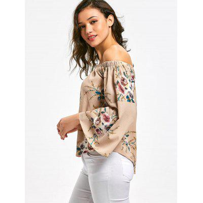 Off Shoulder Bell Sleeve Floral Print BlouseBlouses<br>Off Shoulder Bell Sleeve Floral Print Blouse<br><br>Collar: Off The Shoulder<br>Material: Polyester<br>Occasion: Casual<br>Package Contents: 1 x Blouse<br>Pattern Type: Floral<br>Shirt Length: Regular<br>Sleeve Length: Full<br>Sleeve Type: Flare Sleeve<br>Style: Casual<br>Weight: 0.2400kg
