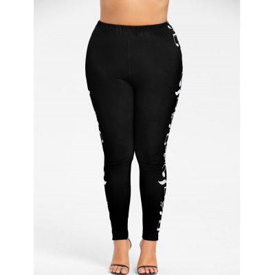 Plus Size Monochrome Music Notes LeggingsPlus Size<br>Plus Size Monochrome Music Notes Leggings<br><br>Closure Type: Elastic Waist<br>Fit Type: Skinny<br>Length: Normal<br>Material: Polyester<br>Package Contents: 1 x Leggings<br>Pant Style: Pencil Pants<br>Pattern Type: Others<br>Style: Casual<br>Waist Type: High<br>Weight: 0.2100kg