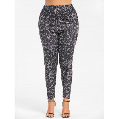 Print Plus Size Bohemian LeggingsPlus Size<br>Print Plus Size Bohemian Leggings<br><br>Closure Type: Elastic Waist<br>Fit Type: Regular<br>Length: Normal<br>Material: Polyester, Spandex<br>Package Contents: 1 x Leggings<br>Pant Style: Pencil Pants<br>Pattern Type: Print<br>Style: Fashion<br>Waist Type: Mid<br>Weight: 0.2700kg