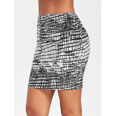 Line Jacquard Bodycon Bandage SkirtSkirts<br>Line Jacquard Bodycon Bandage Skirt<br><br>Length: Mini<br>Material: Nylon, Rayon, Spandex<br>Package Contents: 1 x Skirt<br>Pattern Type: Geometric<br>Season: Fall, Spring<br>Silhouette: Bodycon<br>Weight: 0.4700kg