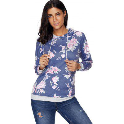 Raglan Sleeve Drawstring Floral HoodieSweatshirts &amp; Hoodies<br>Raglan Sleeve Drawstring Floral Hoodie<br><br>Embellishment: Front Pocket<br>Material: Polyester, Spandex<br>Package Contents: 1 x Hoodie<br>Pattern Style: Floral<br>Season: Fall, Spring<br>Shirt Length: Regular<br>Sleeve Length: Full<br>Style: Casual<br>Weight: 0.5700kg