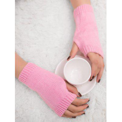 Outdoor Knit Fingerless Gloves
