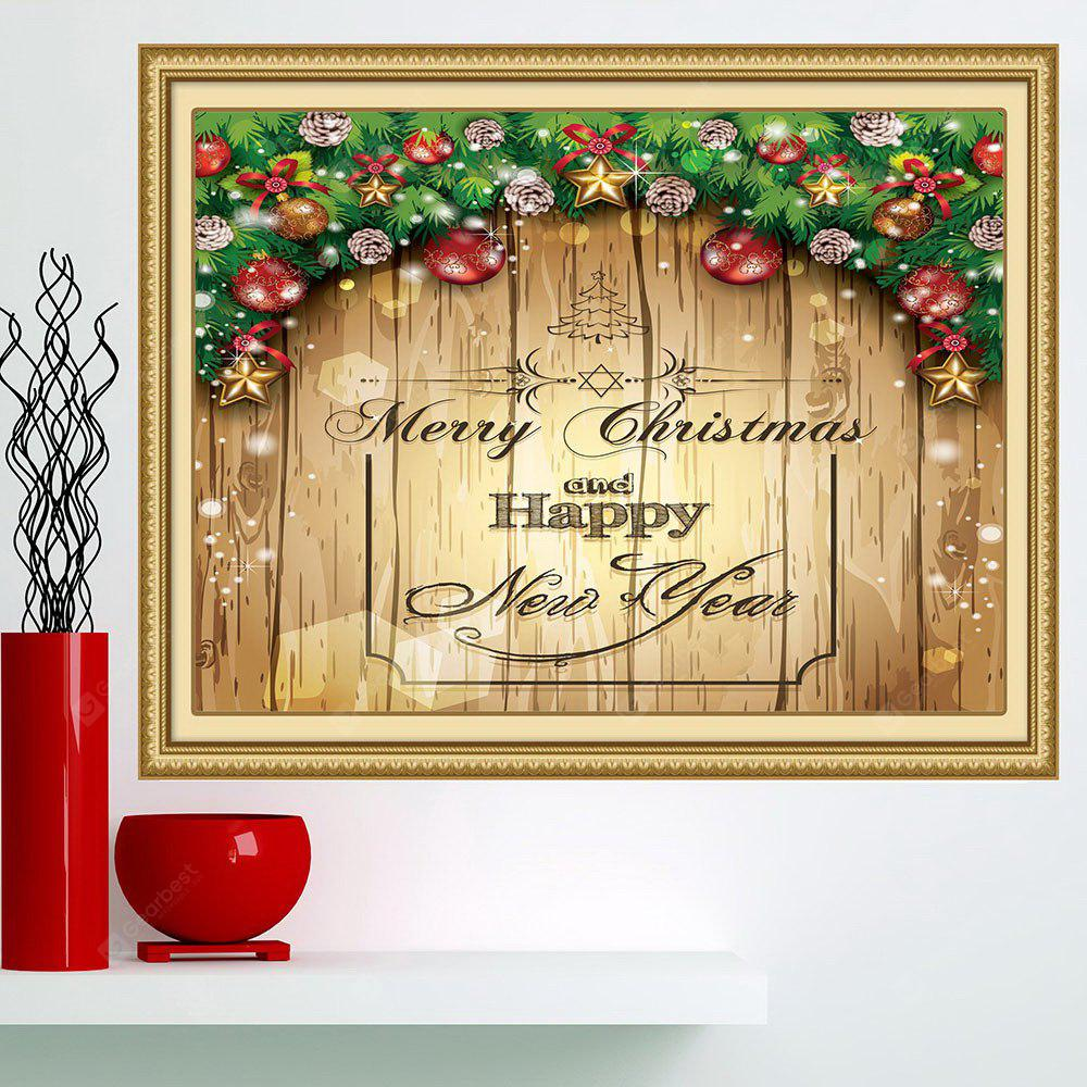 Merry Christmas Decorations Pattern Multifunction Wall Art Painting ...
