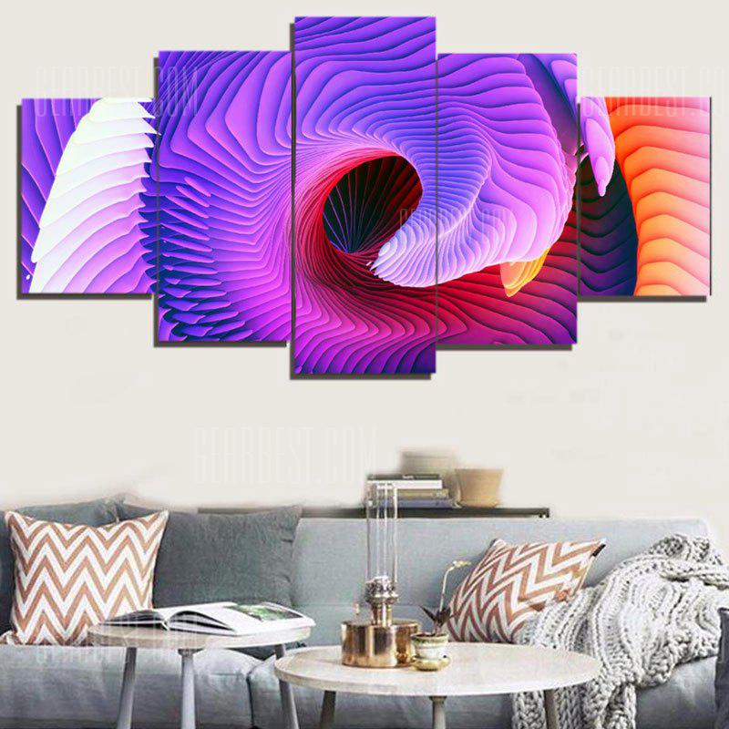 Abstract Space Print Split Unframed Canvas Paintings