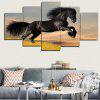 Canvas Black Steed Print Canvas Painting - BLACK