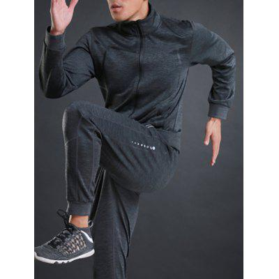Stand Collar Zip Up Sports Athletic JacketSport Clothing<br>Stand Collar Zip Up Sports Athletic Jacket<br><br>Elasticity: Elastic<br>Material: Polyester, Spandex<br>Package Contents: 1 x Jacket<br>Pattern Type: Patchwork<br>Type: Jacket<br>Weight: 0.5900kg
