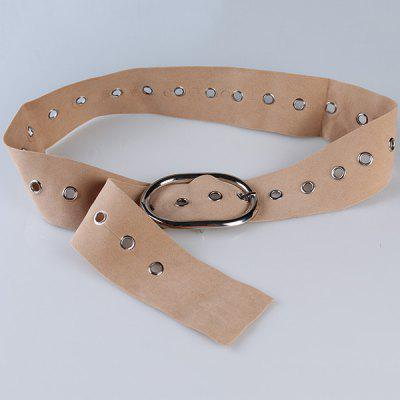 Vintage Metal Round Buckle Decorated Suede Waist BeltWomens Belts<br>Vintage Metal Round Buckle Decorated Suede Waist Belt<br><br>Belt Length: 110CM<br>Belt Material: Suede<br>Belt Silhouette: Buckle<br>Belt Width: 6CM<br>Gender: For Women<br>Group: Adult<br>Package Contents: 1 x Belt<br>Pattern Type: Others<br>Style: Vintage<br>Weight: 0.1200kg