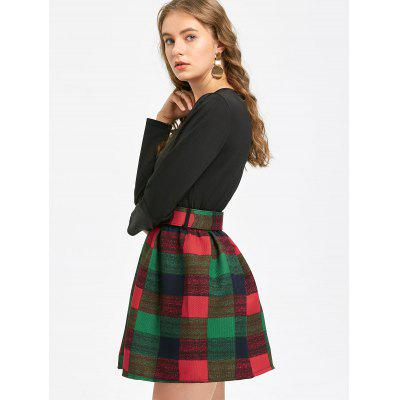 Long Sleeve Belted Checked DressLong Sleeve Dresses<br>Long Sleeve Belted Checked Dress<br><br>Dresses Length: Mini<br>Material: Polyester<br>Neckline: Round Collar<br>Occasion: Casual<br>Package Contents: 1 x Dress  1 x Belt<br>Pattern Type: Plaid<br>Season: Fall<br>Silhouette: A-Line<br>Sleeve Length: Long Sleeves<br>Style: Cute<br>Weight: 0.5200kg<br>With Belt: Yes