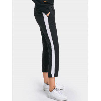 Two Tone High Waisted Casual PantsPants<br>Two Tone High Waisted Casual Pants<br><br>Closure Type: Elastic Waist<br>Fit Type: Regular<br>Material: Cotton, Polyester<br>Package Contents: 1 x Pants<br>Pant Style: Straight<br>Pattern Type: Patchwork<br>Style: Fashion<br>Waist Type: High<br>Weight: 0.3900kg<br>With Belt: No