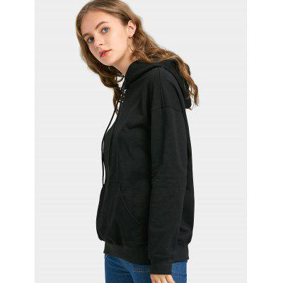 Oversized Drawstring Pocket HoodieSweatshirts &amp; Hoodies<br>Oversized Drawstring Pocket Hoodie<br><br>Clothing Style: Hoodie<br>Material: Cotton, Polyester<br>Package Contents: 1 x Hoodie<br>Pattern Style: Solid<br>Shirt Length: Regular<br>Sleeve Length: Full<br>Weight: 0.5100kg