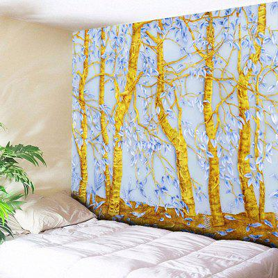 Novelty Tree Print Wall Hanging Tapestry