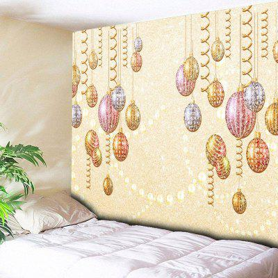 Christmas Ball Ornaments Print Wall Hanging Tapestry