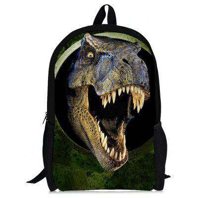 3D Dinosaur Print Backpack