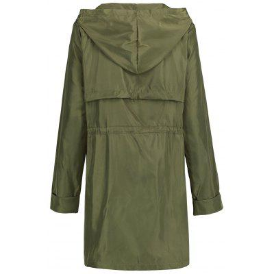 High Waist Hooded Long CoatJackets &amp; Coats<br>High Waist Hooded Long Coat<br><br>Clothes Type: Others<br>Collar: Hooded<br>Material: Spandex, Polyester<br>Package Contents: 1 x Coat<br>Pattern Type: Solid<br>Season: Fall, Winter<br>Shirt Length: Long<br>Sleeve Length: Full<br>Style: Fashion<br>Type: High Waist<br>Weight: 0.3700kg