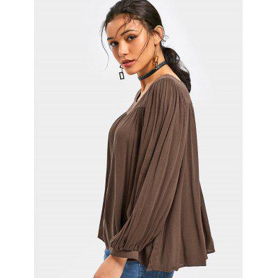 Plain Puff Sleeve BlouseBlouses<br>Plain Puff Sleeve Blouse<br><br>Collar: Square Neck<br>Material: Polyester<br>Occasion: Casual<br>Package Contents: 1 x Blouse<br>Pattern Type: Solid<br>Shirt Length: Regular<br>Sleeve Length: Full<br>Style: Casual<br>Weight: 0.3600kg
