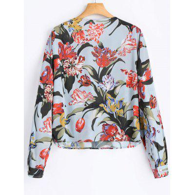 Floral Pockets BlouseBlouses<br>Floral Pockets Blouse<br><br>Collar: Round Neck<br>Material: Polyester<br>Occasion: Casual<br>Package Contents: 1 x Blouse<br>Pattern Type: Floral<br>Shirt Length: Regular<br>Sleeve Length: Full<br>Style: Casual<br>Weight: 0.2100kg