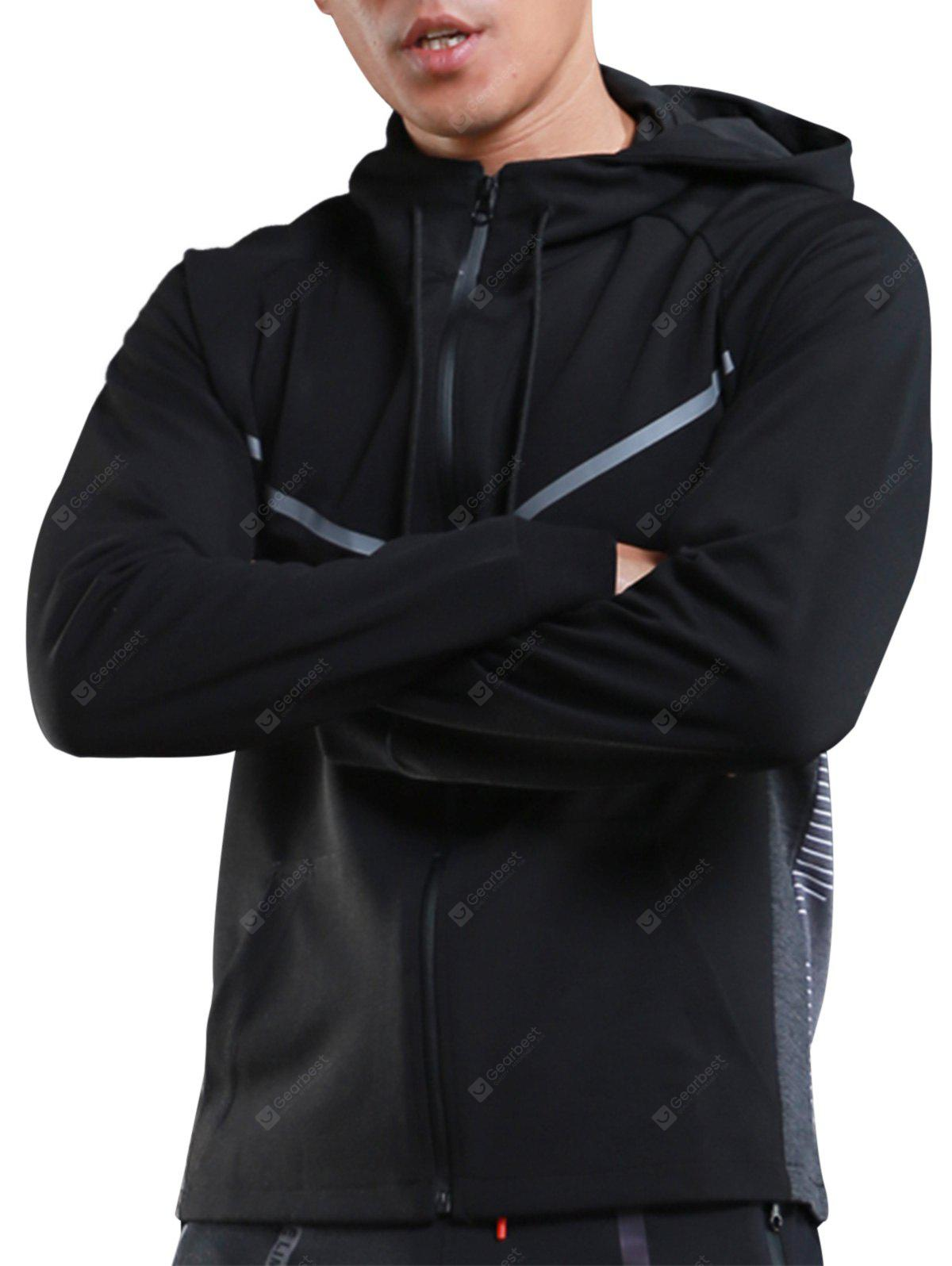 Casual Athletic Sports Hooded Jacket