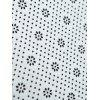 Flannel Nonslip Christmas Snowscape Print Bath Rug - BLUE