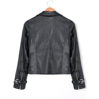 Floral Embroidered Zip Fly PU Leather JacketJackets &amp; Coats<br>Floral Embroidered Zip Fly PU Leather Jacket<br><br>Closure Type: Zipper<br>Clothes Type: Jackets<br>Collar: Turndown Collar<br>Embellishment: Embroidery,Pockets,Zippers<br>Material: Faux Leather<br>Package Contents: 1 x Jacket<br>Pattern Type: Floral<br>Season: Fall, Winter<br>Shirt Length: Short<br>Sleeve Length: Full<br>Style: Fashion<br>Type: Slim<br>Weight: 0.8600kg<br>With Belt: No