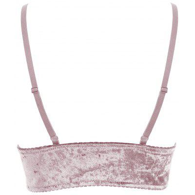 Velvet Longline BraLingerie &amp; Shapewear<br>Velvet Longline Bra<br><br>Bra Style: Bralette<br>Closure Style: None<br>Cup Shape: Three Quarters(3/4 Cup)<br>Embellishment: None<br>Materials: Nylon, Spandex<br>Package Contents: 1 x Bra<br>Pattern Type: Solid<br>Strap Type: Adjusted-straps<br>Style: Everyday<br>Support Type: Wire Free<br>Weight: 0.1450kg