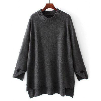 High Low Oversized Pullover Sweater