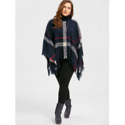 Print Turtleneck Plus Size Cape SweaterPlus Size<br>Print Turtleneck Plus Size Cape Sweater<br><br>Collar: Turtleneck, Turtleneck<br>Material: Polyester, Polyester, Spandex, Spandex<br>Package Contents: 1 x Sweater, 1 x Sweater<br>Pattern Type: Striped, Striped<br>Season: Fall, Fall, Winter, Winter<br>Sleeve Length: Full, Full<br>Style: Fashion, Fashion<br>Type: Pullovers, Pullovers<br>Weight: 0.5800kg, 0.5800kg