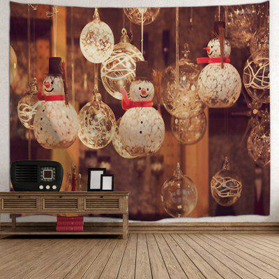 Christmas Snowman Glass Ball Print Wall Art TapestryTapestries<br>Christmas Snowman Glass Ball Print Wall Art Tapestry<br><br>Feature: Removable, Washable<br>Material: Polyester<br>Package Contents: 1 x Tapestry<br>Shape/Pattern: Ball,Snowman<br>Style: Festival<br>Theme: Christmas<br>Weight: 0.3000kg