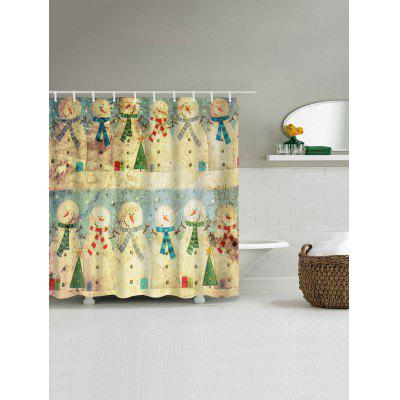 Vintage Christmas Snowman Family Waterproof Shower CurtainShower Curtain<br>Vintage Christmas Snowman Family Waterproof Shower Curtain<br><br>Materials: Polyester<br>Number of Hook Holes: W59 inch*L71 inch: 10; W71 inch*L71 inch: 12; W71 inch*L79 inch: 12<br>Package Contents: 1 x Shower Curtain 1 x Hooks (Set)<br>Pattern: Snowman<br>Products Type: Shower Curtains<br>Style: Festival