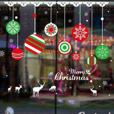 Christmas Balls Pattern Window Wall Art StickerWall Stickers<br>Christmas Balls Pattern Window Wall Art Sticker<br><br>Feature: Removable<br>Functions: Decorative Wall Stickers<br>Material: PVC<br>Package Contents: 1 x Wall Sticker<br>Pattern Type: Ball<br>Theme: Christmas<br>Wall Sticker Type: Plane Wall Stickers<br>Weight: 0.1274kg