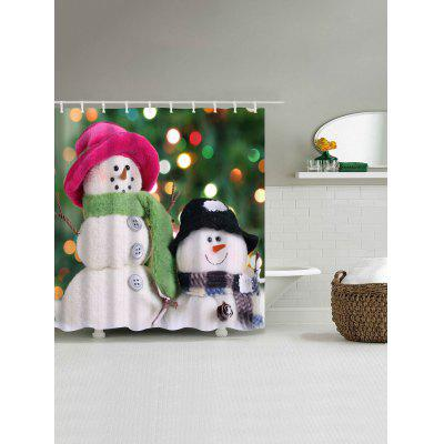 Christmas Two Snowman Waterproof Polyester Bath CurtainShower Curtain<br>Christmas Two Snowman Waterproof Polyester Bath Curtain<br><br>Materials: Polyester<br>Number of Hook Holes: W59 inch*L71 inch: 10; W71 inch*L71 inch: 12; W71 inch*L79 inch: 12<br>Package Contents: 1 x Shower Curtain 1 x Hooks (Set)<br>Pattern: Snowman<br>Products Type: Shower Curtains<br>Style: Festival
