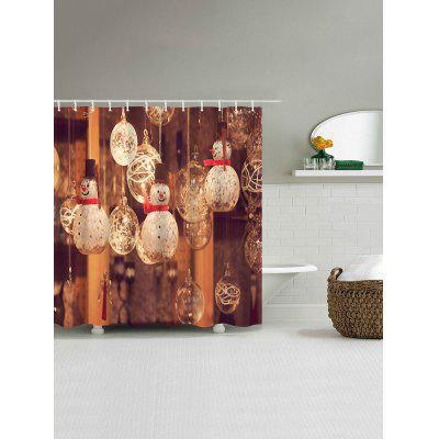 Christmas Snowman Glass Ball Print Waterproof Bath CurtainShower Curtain<br>Christmas Snowman Glass Ball Print Waterproof Bath Curtain<br><br>Materials: Polyester<br>Number of Hook Holes: W59 inch*L71 inch: 10; W71 inch*L71 inch: 12; W71 inch*L79 inch: 12<br>Package Contents: 1 x Shower Curtain 1 x Hooks (Set)<br>Pattern: Ball,Snowman<br>Products Type: Shower Curtains<br>Style: Festival